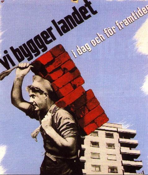 Vi bygger landet, en bolsjevikisk marschsång