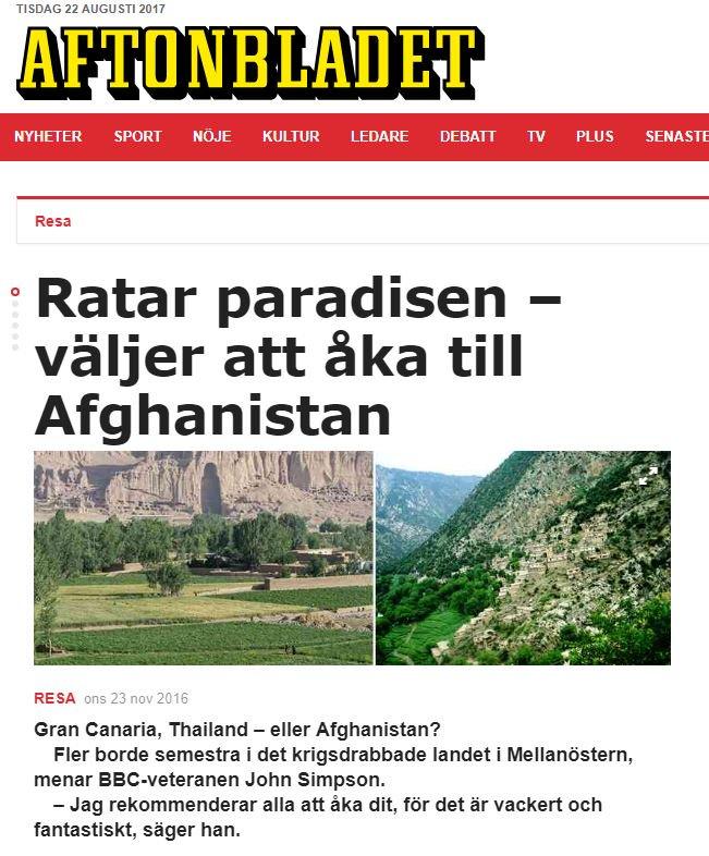 Utvisningar till paradiset Afghanistan