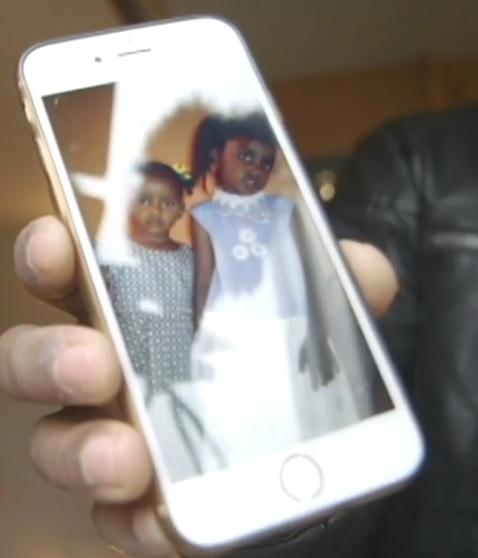 Musa Naser visar upp en del av sin familj som han väntar på ska komma till Sverige för att också försörjas