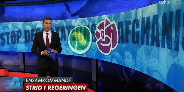 Ensamkommande, socialdemokrater mot socialdemokrater och miljöpartister