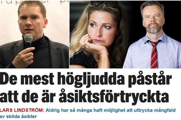 Lars Lindström, Expressen