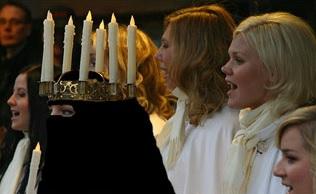 Lucia i niqab, ny svensk tradition?