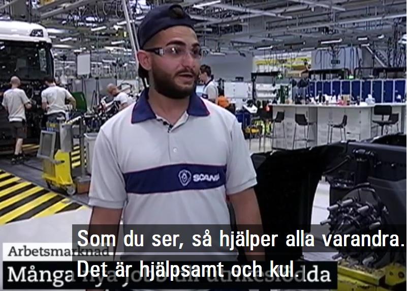 Är utrikes födda exempel på att det går bra för Sverige?