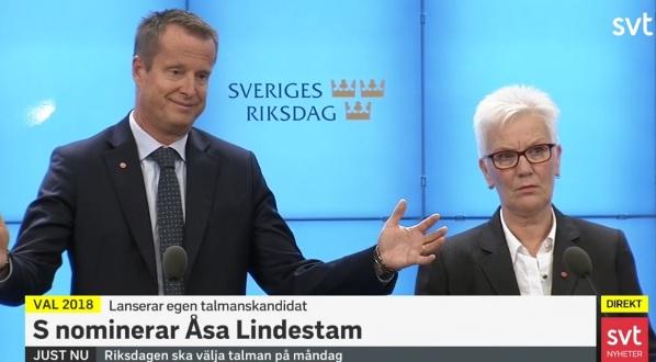 Anders Ygeman och Åsa Lindestam