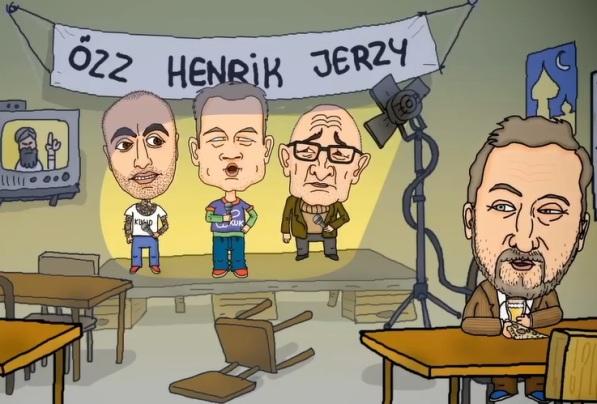 Özz Nujen, Henrik Schyffert, Jerzy_Sarnecki