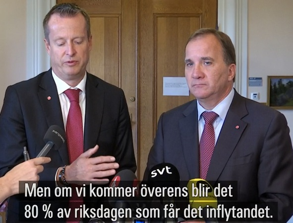 Moderaterna berommer avgaende ams chef