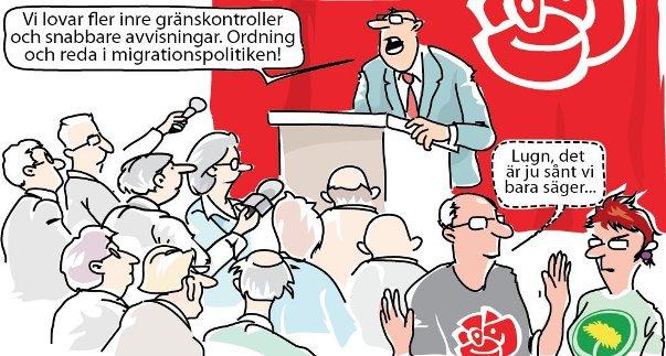 Ordning och reda i politiken enligt Socialdemokraterna