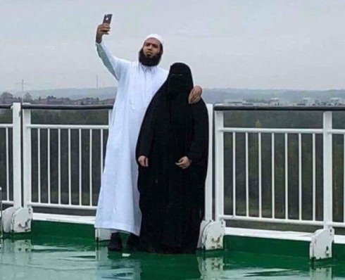 Selfie i burka
