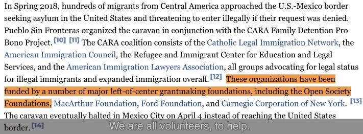Finansiering av migranter på väg till USA genom Mexiko