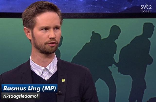 Rasmus Ling Miljöpartiet