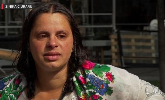 Tiggare Zinika Ciuraru från Rumänien i Stockholm