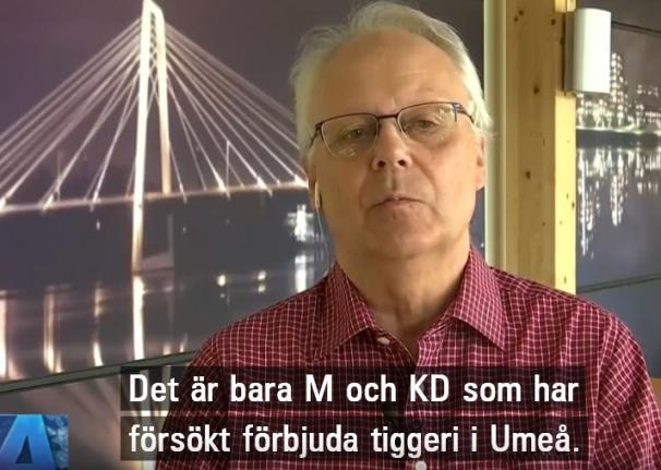 Inget förbud att tigga i Umeå, säger Tomas Wennström