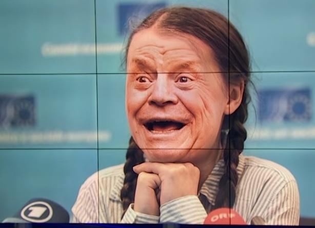 Greta Thunberg, klimataktivist, om 30 år