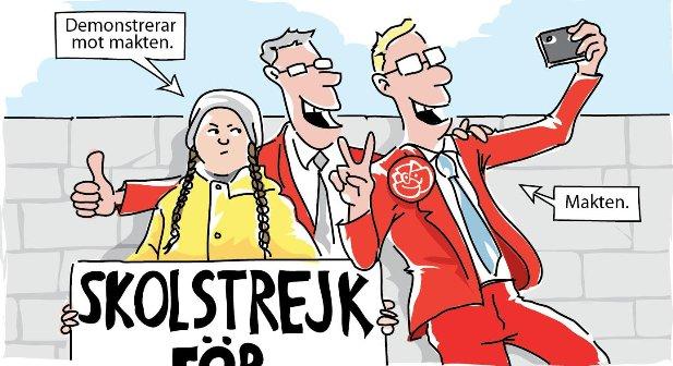 Greta Thunberg, skolstrejk för klimatet