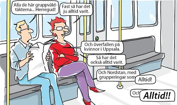 Kriminalitetsförnekare, kriminaliteten är på samma nivå som den alltid varit i Sverige?