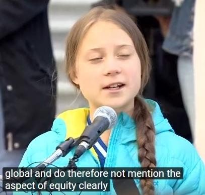 Greta Thunberg håller tal i Kanada (Edmonton, Alberta)