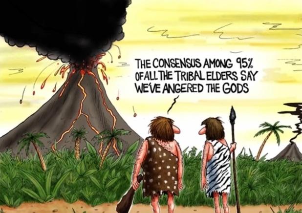 Råder det konsensus bland 97 procent av forskarna om klimatet?