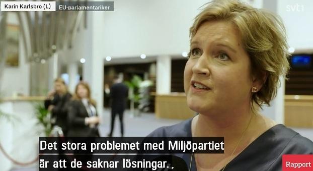 Karin Karlsbro (Liberalerna), EU-parlamentariker, klimatlag