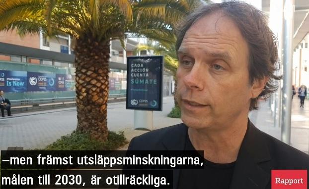 Pär Holmgren (MP), EU-parlamentariker, klimatalarmist, klimatextremist f.d. SMHI-miljöpartist, klimatlag
