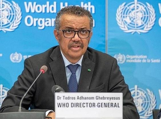 WHO Director General Dr Tedros Adhanom Ghebreyesus om Covid-19 / CV-19 / Cortonaviruset / Wuhanviruset.