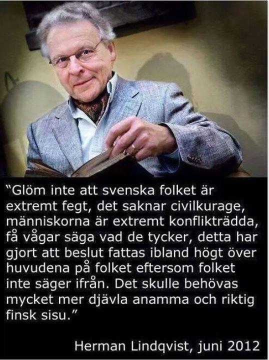 Herman Lindqvist om demokrati
