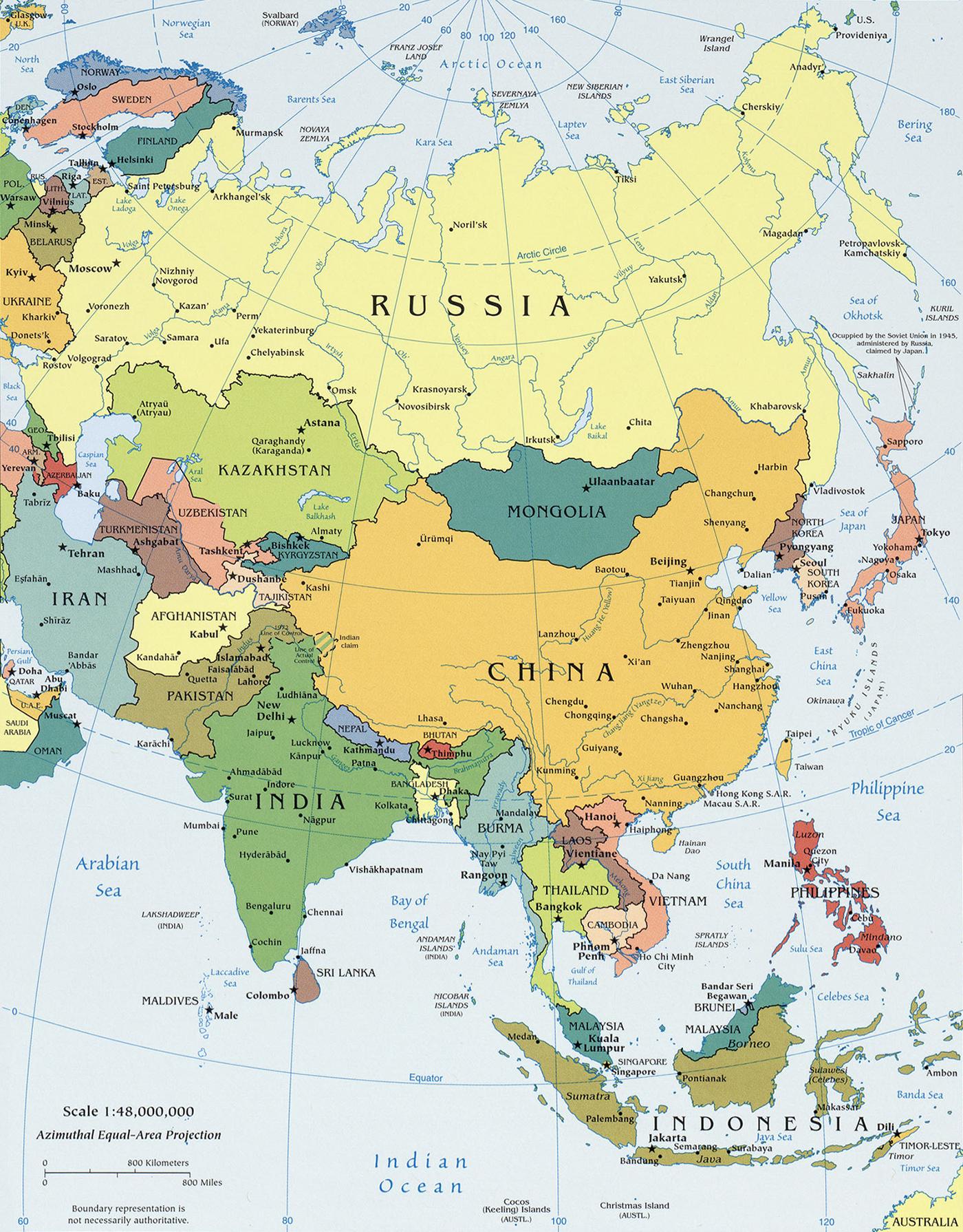 stor asien karta Vädret i världen   vädersajter, väderprognos   Vad är vädret just  stor asien karta