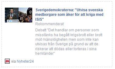 Klicka här för att gå till artikeln i Nyheter24, 2015-01-31