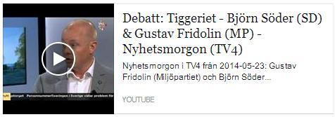 Klicka här för att gå till Youtube-klippet från Nyhetsmorgon i TV4, maj 2014