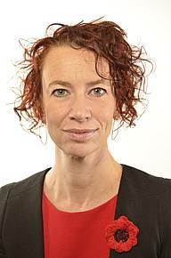 Christina Höj Larsen, Riksdagsledamot Vänsterpartiet, Västernorrland