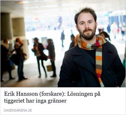 Klicka här för att gå till artikeln i Dagens Arena, 2015-06-25