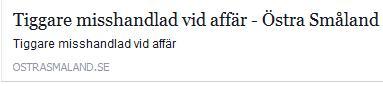 Klicka här för att gå till artikeln i Östra Småland, 2016-01-29