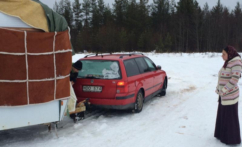EU-migranter avhysta i Umeå