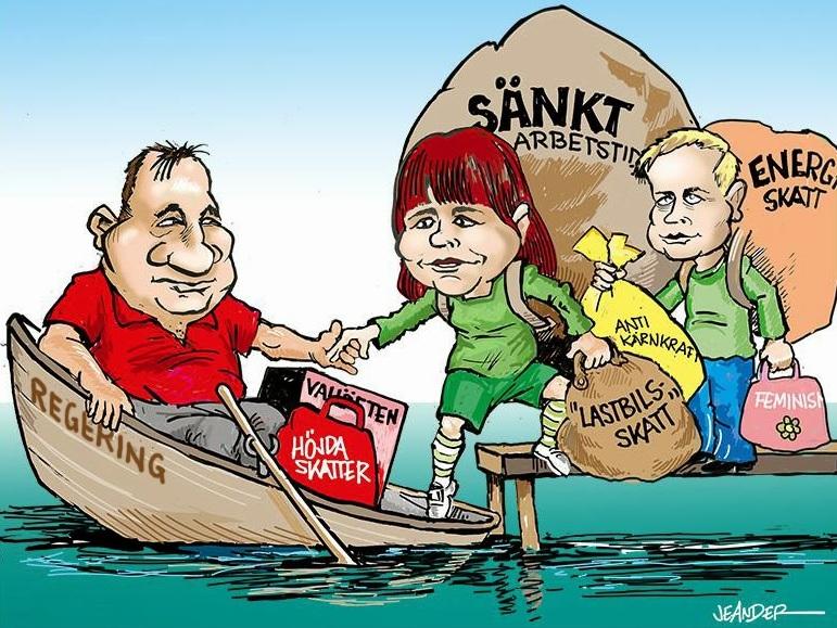 Sveriges skattetryck ökar