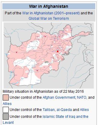 Kriget i Afghanistan 2016
