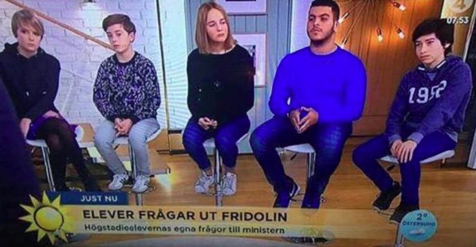 Elever/ensamkommande flyktingbarn frågar ut Gustav Fridolin