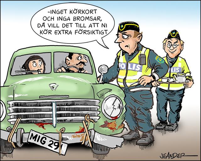 Från Jeanders karikatyrer