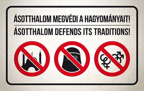 Islam- och HBTQ-främjande verksamhet förbjuds i den kommunala ordningslagen i Ungern.