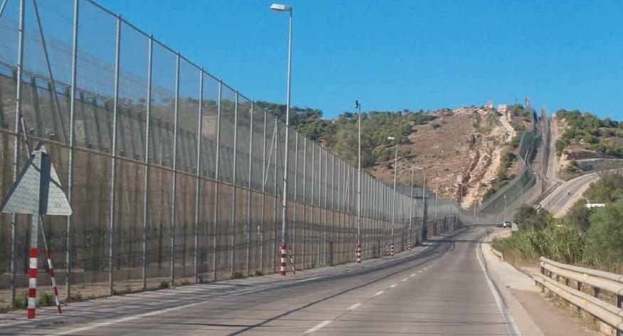 Ceuta stängsel