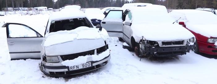 EU-migranter, Umeå, skrotbilar