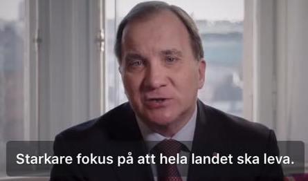 Stefan Löfvens fokus
