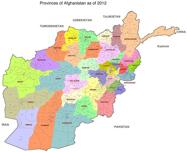 Provinser i Afghanistan