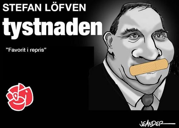 Stefan Löfven vägrar svara på frågor om det säkerhetspolitiska rådet