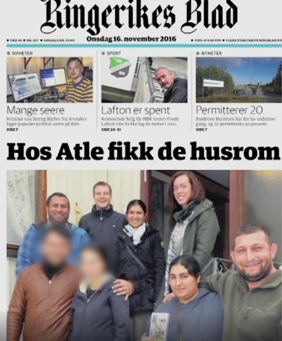 Rika tiggare blåser norska medborgare med stöd av vänsterextremisterna i Refugees Welcome
