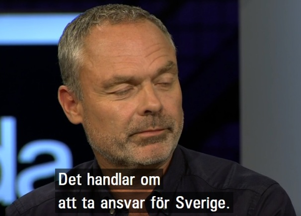Jan Björklund vill inte ta ansvar för Sverige
