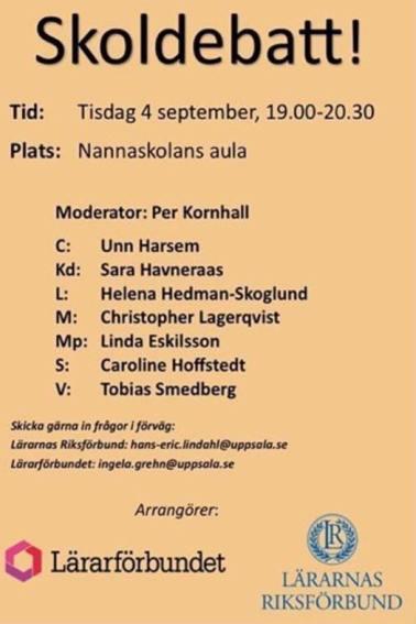 Lärarförbundet diskriminerar Sverigedemokraterna