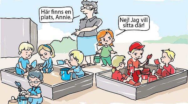 Annie Lööf vill inte leka i Alliansens sandlåda