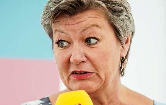 Ylva Johansson, arbetsmarknadsminister, etableringsminister
