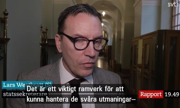 Lars Westbratt, statssekreterare, Socialdemokraterna