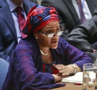 Amina Mohammed, FN:s vice generalsekreterare