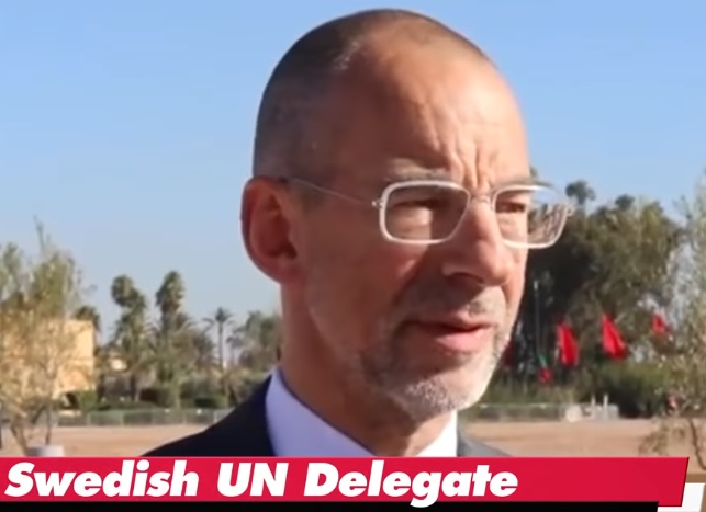 Hans Dahlgren Statssekreterare för utrikes- och EU-frågor hos statsminister Stefan Löfven. FN-delegation, Global Compact for Migration